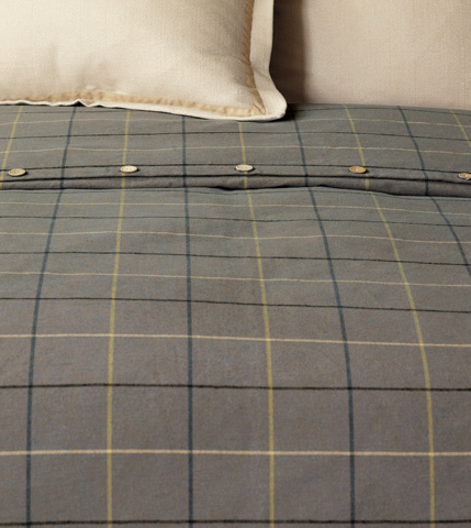 Image of Donoghue Slate Duvet Cover -King