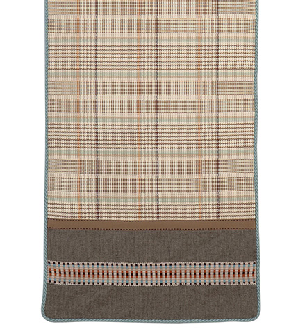Eastern Accents - Flint Charcoal Ends Runner - TLD-297