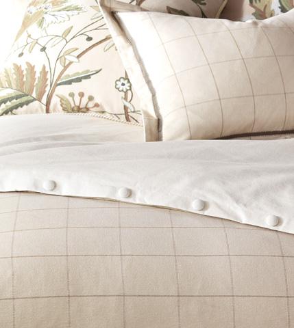 Eastern Accents - Franklin Vanilla Duvet Cover And Comforter -King - DVK-277