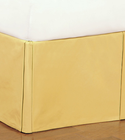 Image of Fullerton Lemon Bed Skirt -King