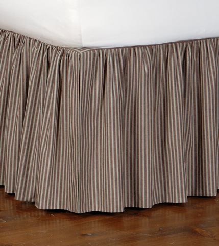 Image of Heirloom Spa Skirt Ruffled -King