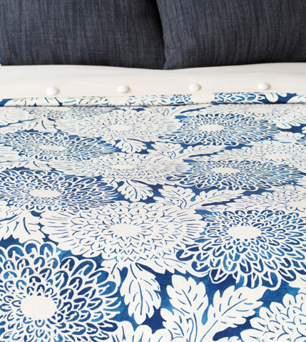 Image of Indira Ink Duvet Cover And Comforter -King