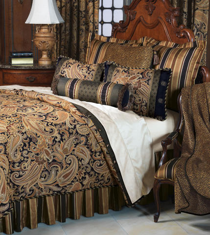 Eastern Accents - Langdon Bedset -King - BDK-149