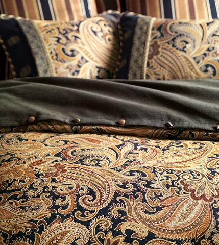 Eastern Accents - Langdon Duvet Cover And Comforter -King - DVK-149