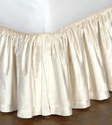 Eastern Accents - Lucerne Ivory Skirt Ruffled -King - SKK-151-RF