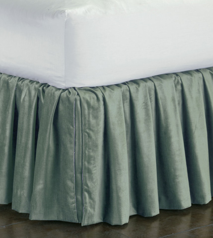 Eastern Accents - Lucerne Ocean Skirt Ruffled -King - SKK-153-RF
