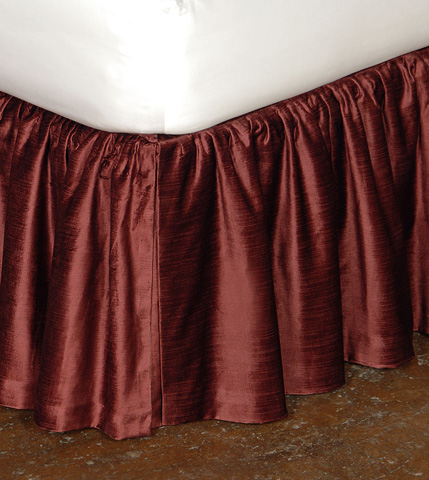 Image of Lucerne Spice Skirt Ruffled -King