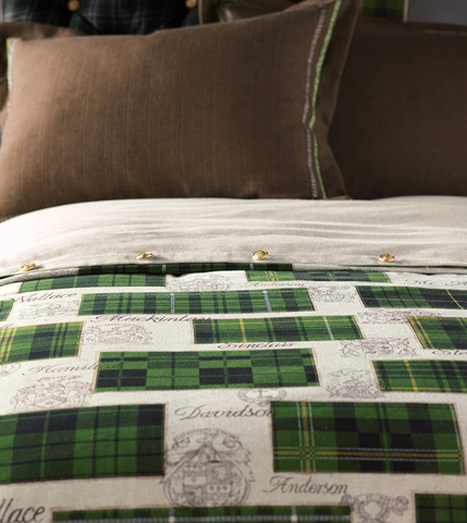 Image of Maccallum Spruce Duvet Cover And Comforter -King