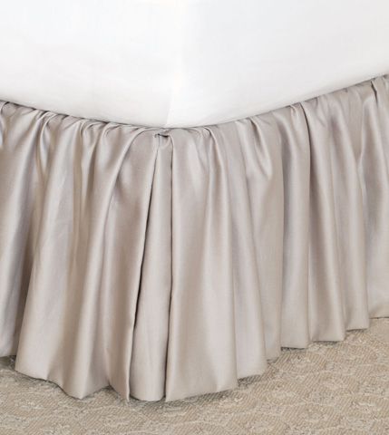 Eastern Accents - Mack Heather Bed Skirt -King - SKK-354