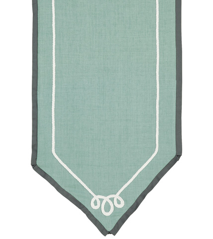 Eastern Accents - Marny Mint Table Runner - TLD-335