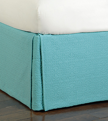 Image of Mea Aqua Bed Skirt -King