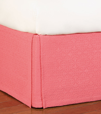 Image of Mea Coral Bed Skirt -King