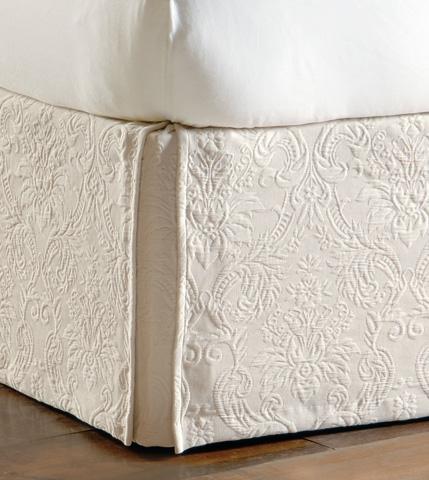 Image of Sandrine Ecru Bed Skirt -King