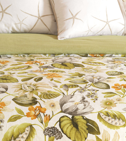 Image of Stelling Palm Duvet Cover And Comforter -King