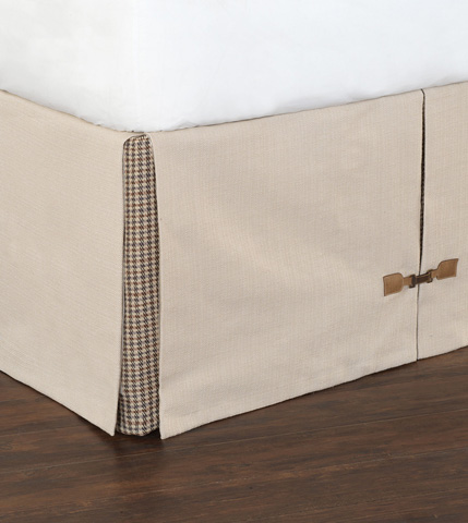 Image of Vivo Bisque Bed Skirt -King