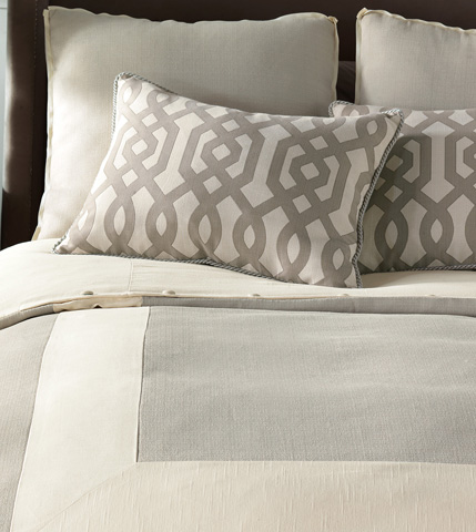 Eastern Accents - Vivo Bisque Duvet Cover And Comforter -King - DVK-312