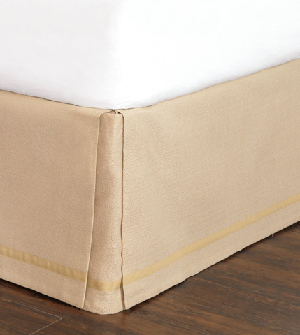 Image of Walden Tan Bed Skirt -King