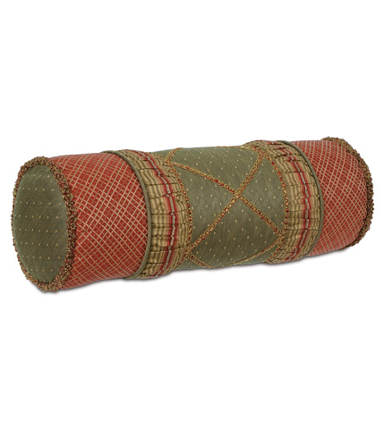 Eastern Accents - Quentin Olive Insert Bolster - BOL-130