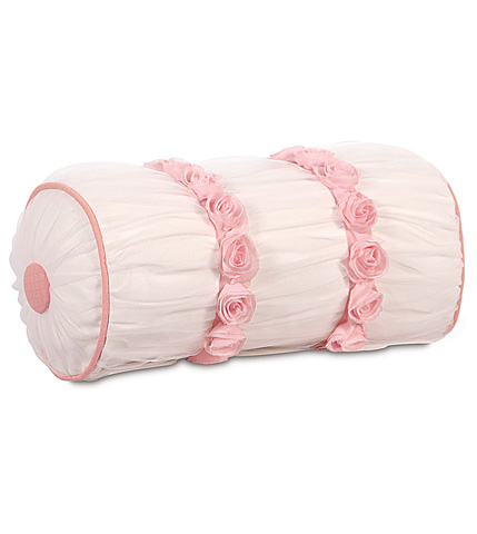 Eastern Accents - Tulle Ruched Bolster - BOL-299