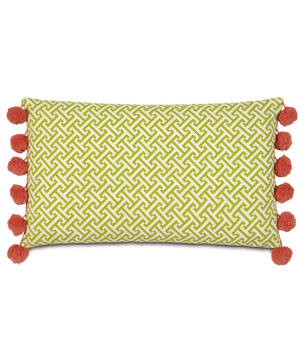 Eastern Accents - Chive Sparrow Bolster - BOL-372