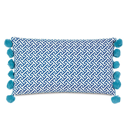 Eastern Accents - Chive Navy Bolster - BOL-373