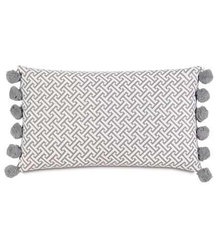 Eastern Accents - Chive Dove Bolster - BOL-374