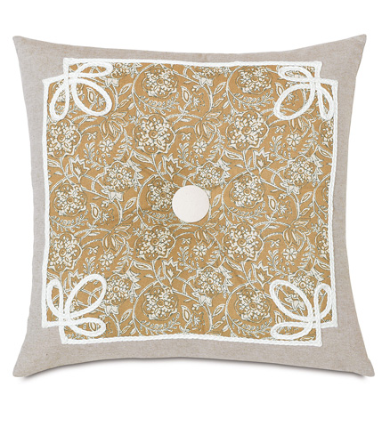 Eastern Accents - Fellows Amber Tufted Pillow - EDI-05