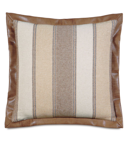 Eastern Accents - Ashbrooke Wheat Euro Sham - EUS-359