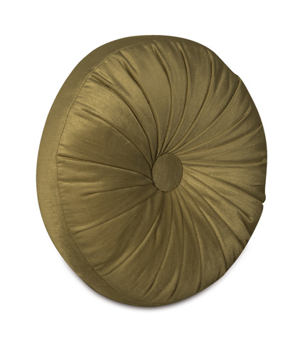 Eastern Accents - Lucerne Olive Tambourine Throw Pillow - LCR-154-10