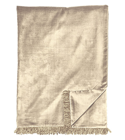Eastern Accents - Lucerne Taupe Throw - THO-156
