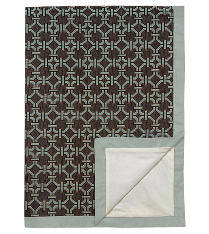 Eastern Accents - Tonkin Espresso Throw - THO-165