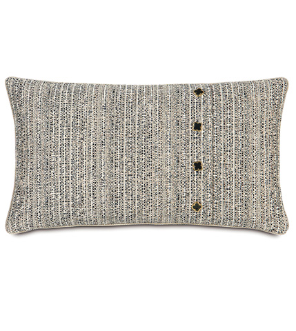 Eastern Accents - Abernathy Pillow With Buttons - ABR-04