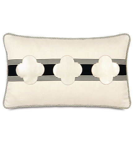 Image of Klein Shell Clovers Pillow