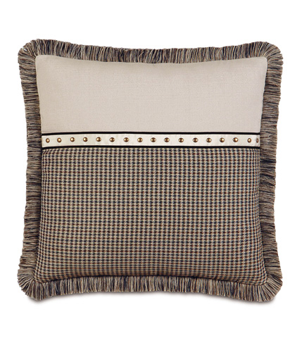 Image of Woodside Pillow with Brush Fringe