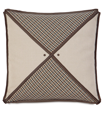 Image of Woodside Oak Triangle Inserts Pillow