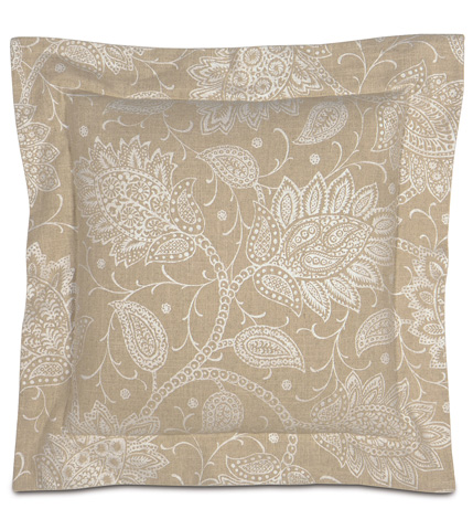 Image of Aileen Pillow with Double Flange