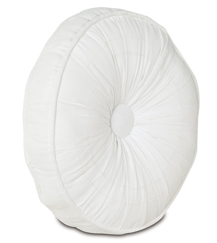 Image of Breeze White Tambourine Pillow