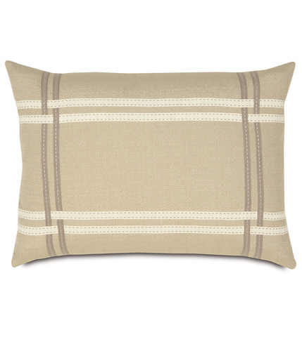 Image of Vivo Bisque Pillow with Ribbons