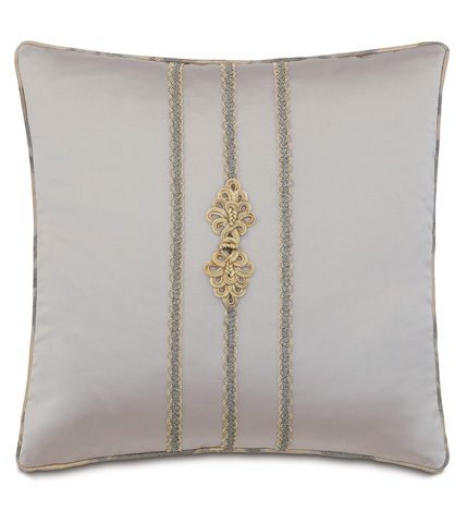 Eastern Accents - Daza Mink Pillow with Frog Tie - AMA-12