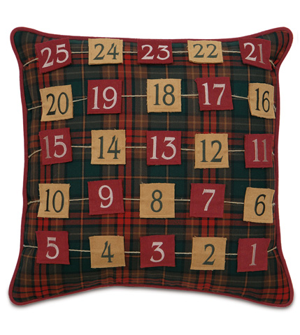 Eastern Accents - Advent Calendar Pillow - ATE-205