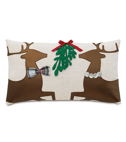 Eastern Accents - Dancer And Prancer Pillow - ATE-633