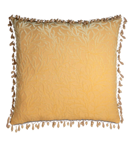 Image of Augustine Gold Extra Sham with Beaded Trim