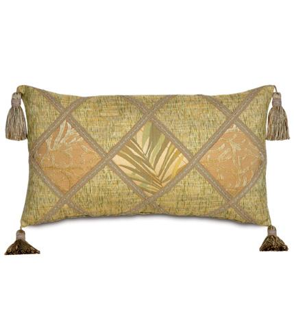 Image of Antigua Diamond Collage Pillow