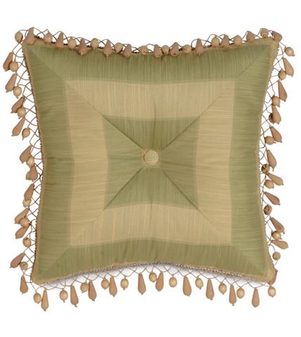 Image of Leeward Aloe Tufted Pillow