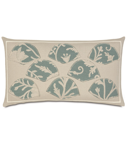 Image of Avila Applique Pillow