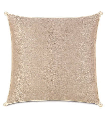 Image of Dunaway Fawn Pillow With Turkish Knots