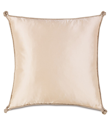 Image of Marilyn Chamois Pillow With Turkish Knots