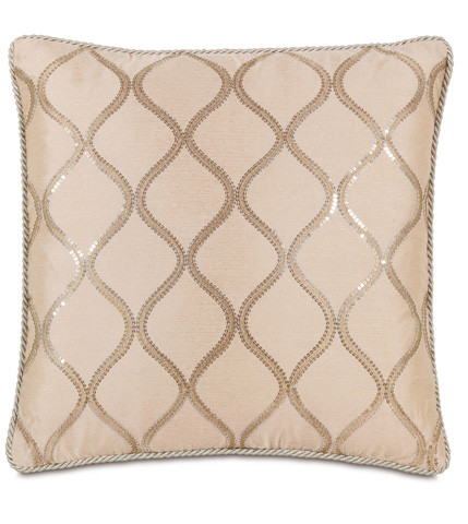 Eastern Accents - Bardot Bisque Pillow With Cord - BAD-08