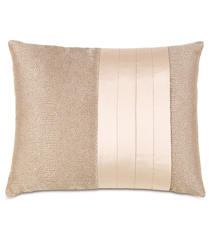 Image of Dunaway Fawn Pillow With Pleats