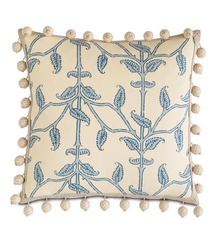 Image of Badu Beanstick Pillow with Ball Trim